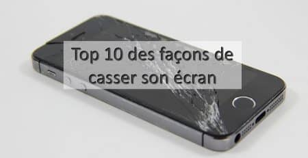 ecran casse iphone apercu
