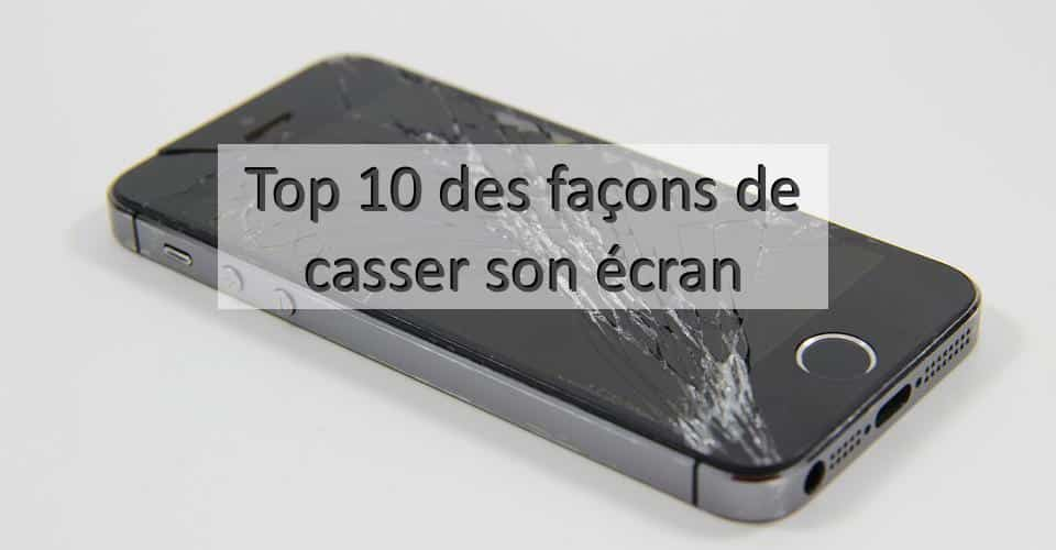 ecran casse iphone apercu