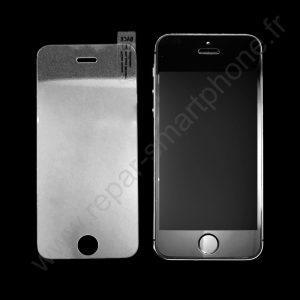 protection ecran verre trempe iphone 5 avec un iphone 5 a cote