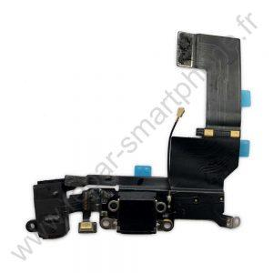 Prise de charge iPhone 5S noir img1
