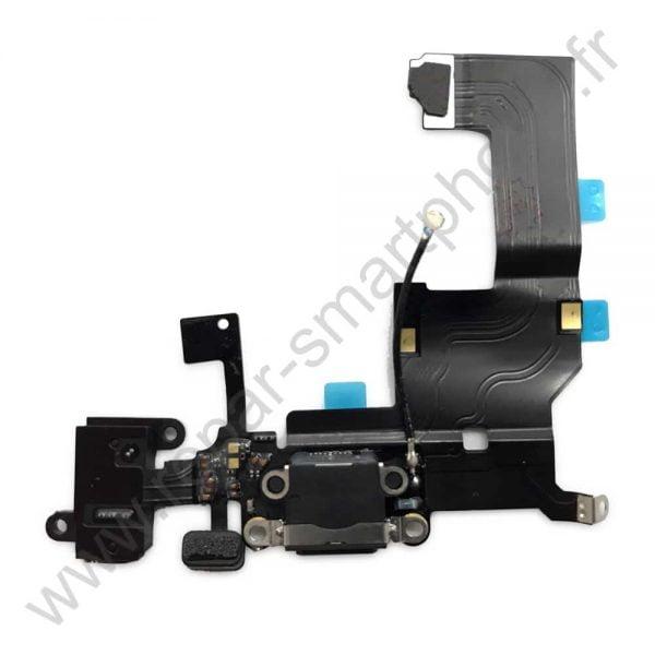 Prise de charge iPhone 5 black noir img1