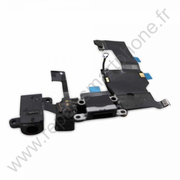 Prise de charge iPhone 5 black noir img3