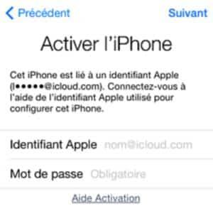 activer l'iphone icloud jpg