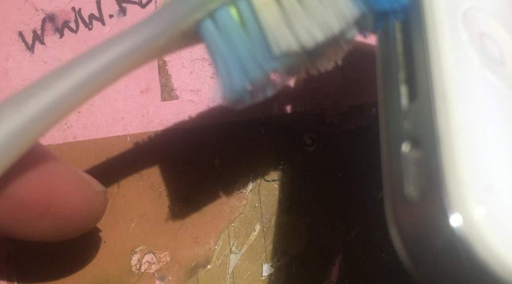 nettoyage brosse a dents