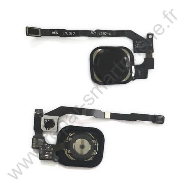 Bouton home noir iPhone 5s se
