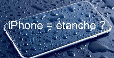 iphone étanche étanchéité 6s, 7, 8, X
