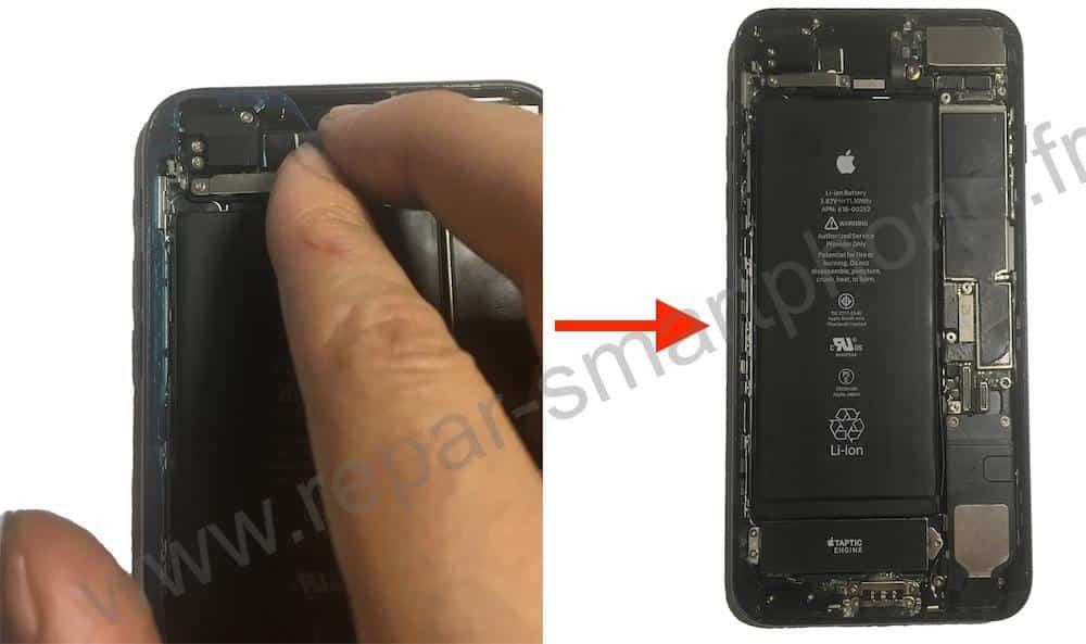 sticker pose anti eau iphone 6s 7 8 X