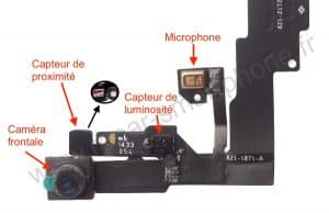 connecteur capteur proximitee iphone 6