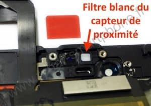 filtre capteur de proximité iphone 6S