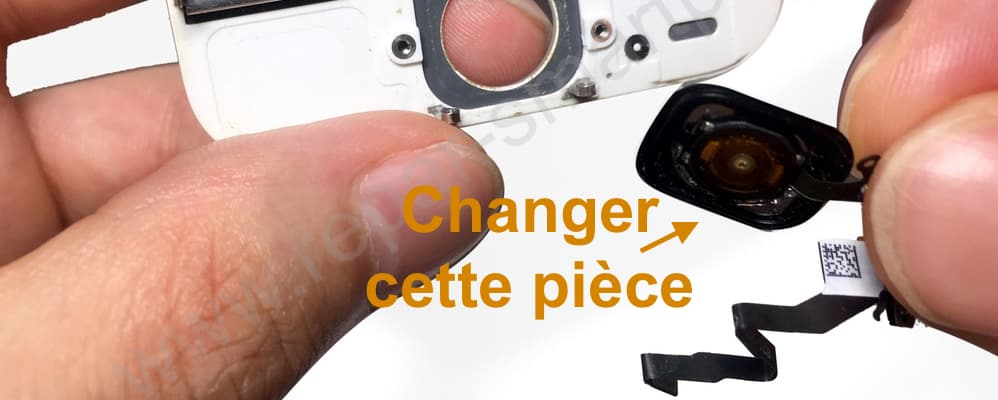Changement bouton home iPhone 5S SE
