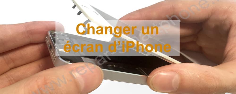 Changement écran iPhone 5S SE