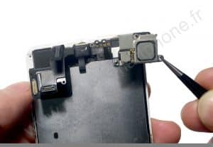 Retrait de l ecouteur iPhone 5S SE 4