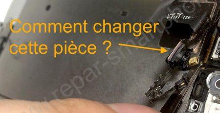 changement camera frontale iphone 5S se apercu