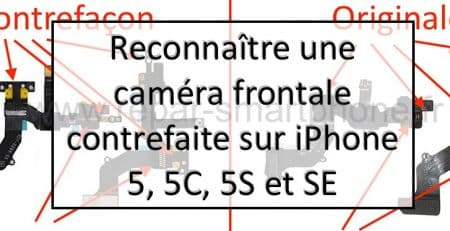 comparaison camera avant originale et contrefaite apercu article