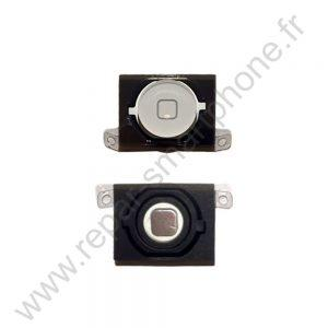 bouton home iphone 4s blanc