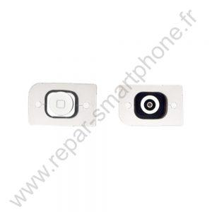 bouton home iphone 5 et 5c blanc