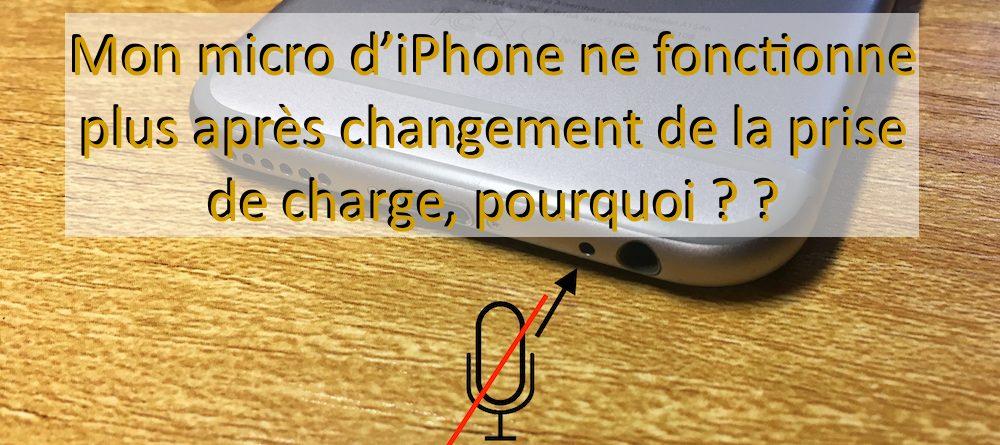 micro ne fonctionne plus iphone apercu