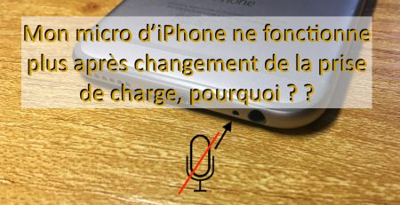 micro ne fonctionne plus iphone apercu