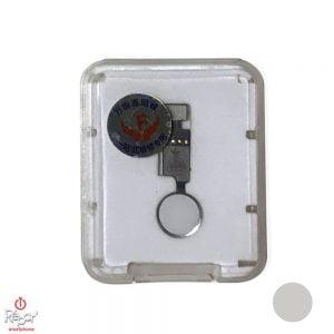 bouton home magique iphone 7 blanc argent