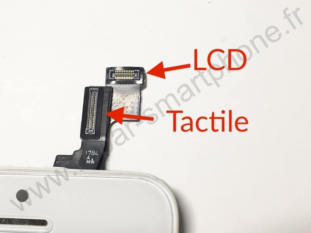 connecteur LCD et tactile sur iPhone SE