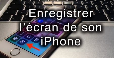 enregistrer l'ecran iphone apercu