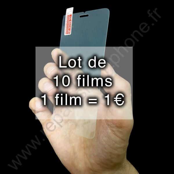 film verre trempe lot 10 iphone 6 6s img1
