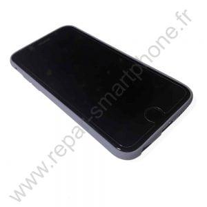 Coque souple couleur violet iPhone 6 6s13