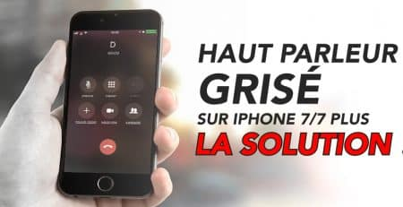 haut parleur grise iphone 7 7 plus