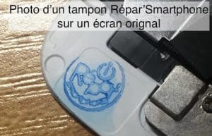 photo tampon repar smartphone