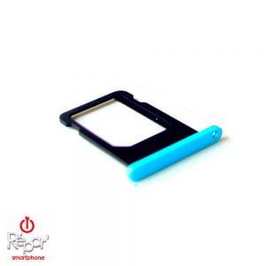 tiroir sim iphone 5c bleu
