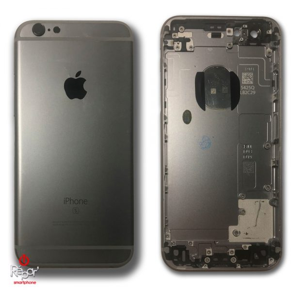 chassis arriere iphone 6s gris noir_img1