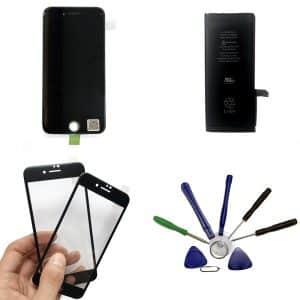 apercu pack écran iphone 7 noir