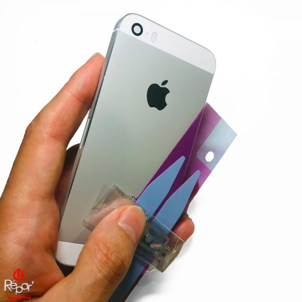 chassis arriere iphone 5s argent img2