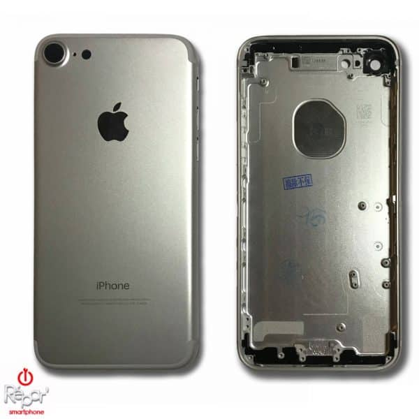 chassis coque arriere iphone 7 argent img1