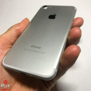 chassis coque arriere iphone 7 argent img2