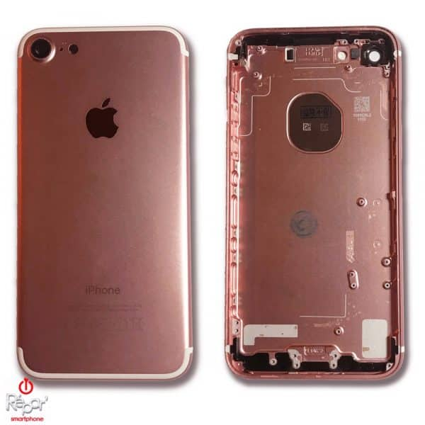 chassis coque arriere iphone 7 or rose img1 copie