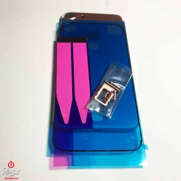 chassis coque arriere iphone 7 or rose img3