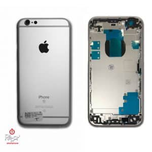 coque chassis arriere iphone 6S argent img1