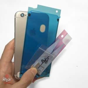 coque chassis arriere iphone 6S argent img2