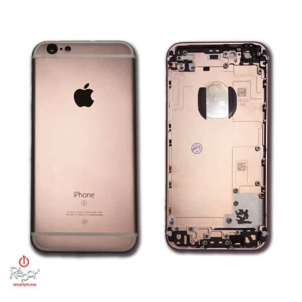 coque chassis arriere iphone 6S or rose img1