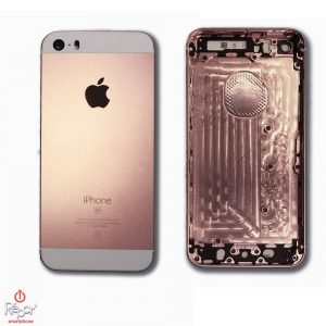 coque chassis arriere iphone se or rose img1
